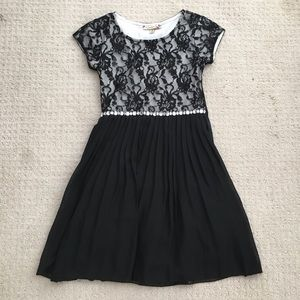 Black Lace Party Dress, Size 10, from Speechless